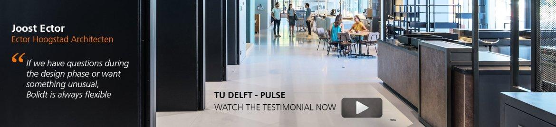 Banner TU Delft Pulse - onderwijs