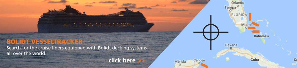 Banner vesseltracker cruise