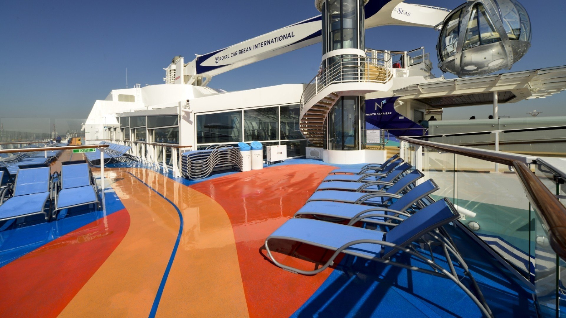 Anthem of the Seas Meyer Werft Bolideck Select Soft