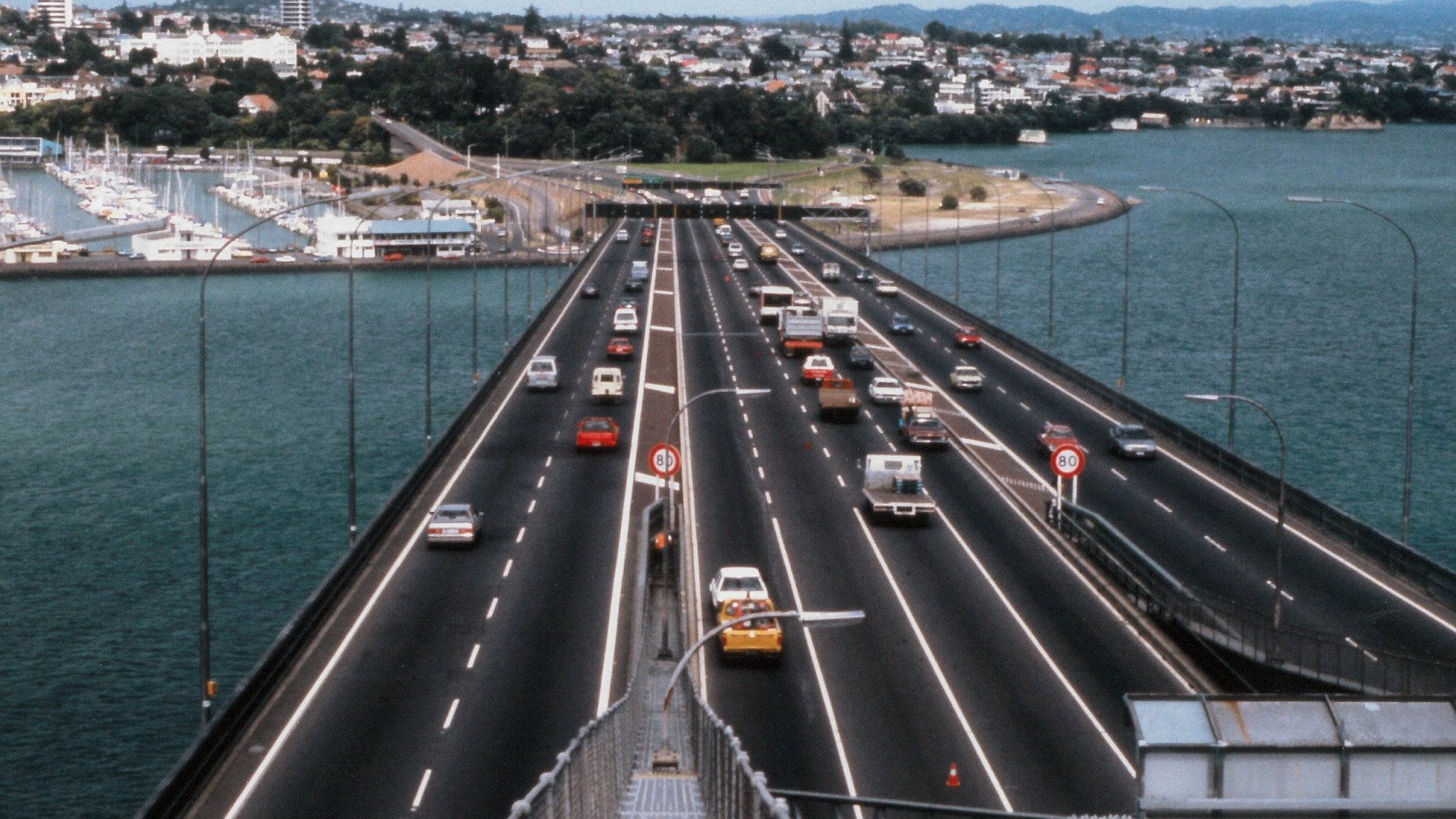 Auckland Harbour Bridge Bolidtop Z.OK