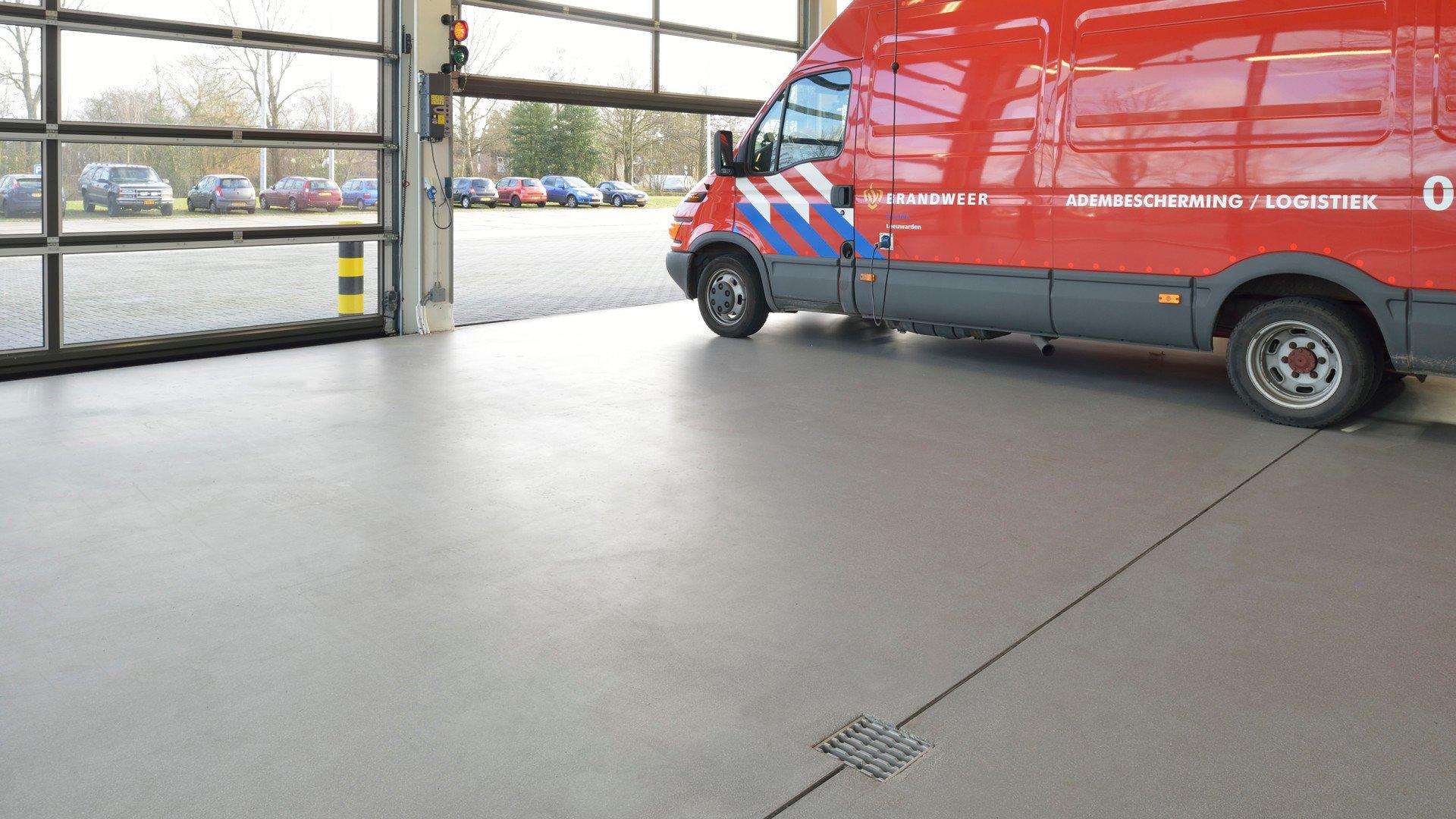 Brandweerkazerne Leeuwarden Bolidtop 700