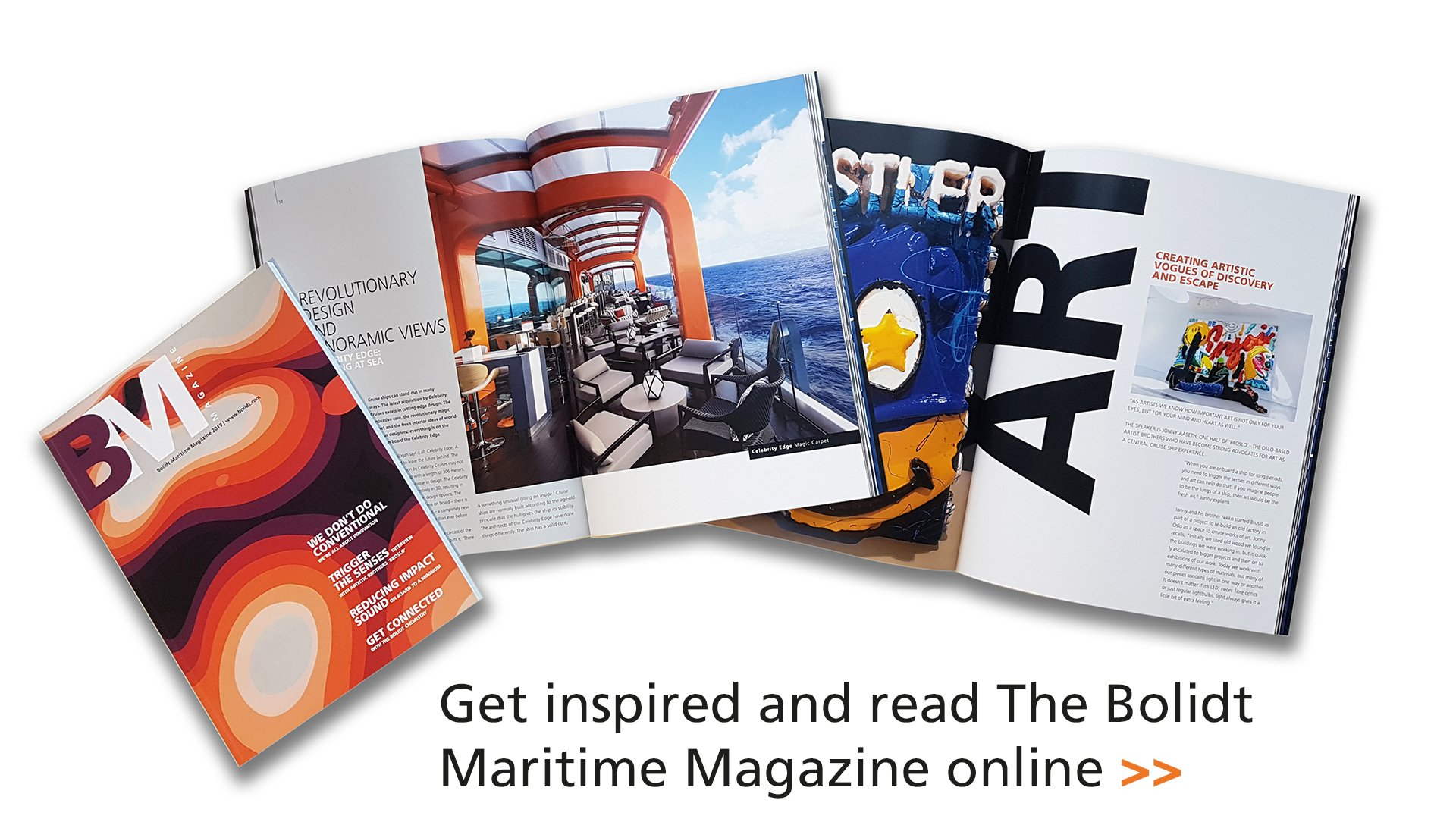 Cover Bolidt Maritime magazine