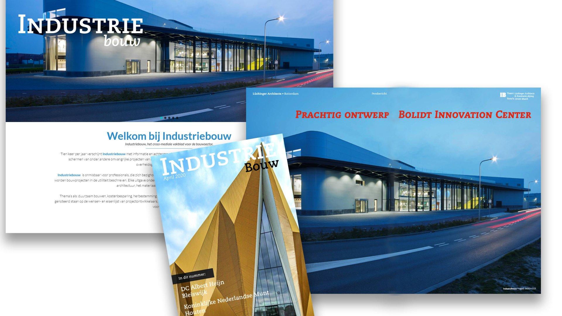 IndrustrieBouw-artikel Bolidt Innovation Center
