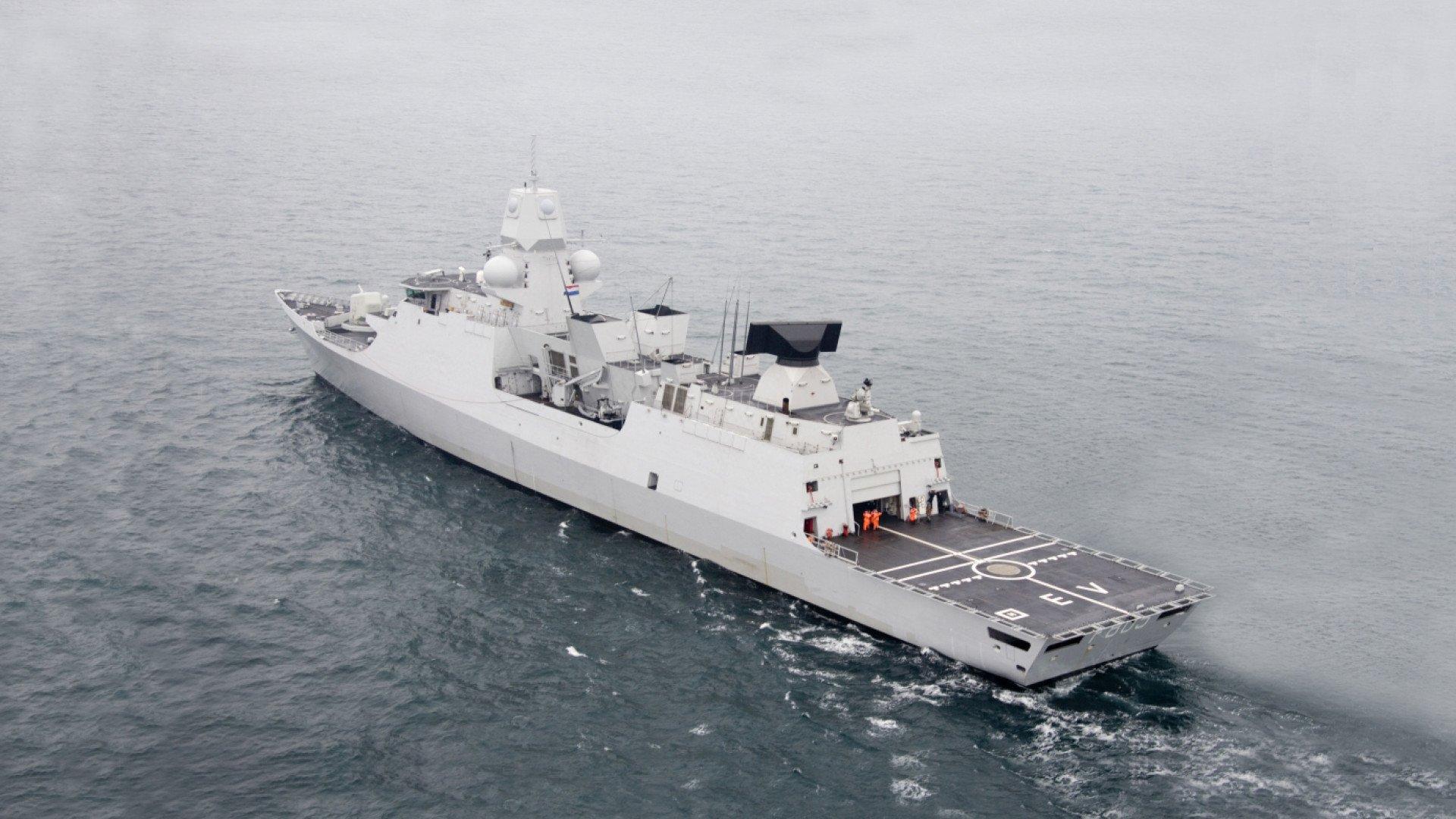 LCF Evertsen Schelde Marinebouw Bolideck B1