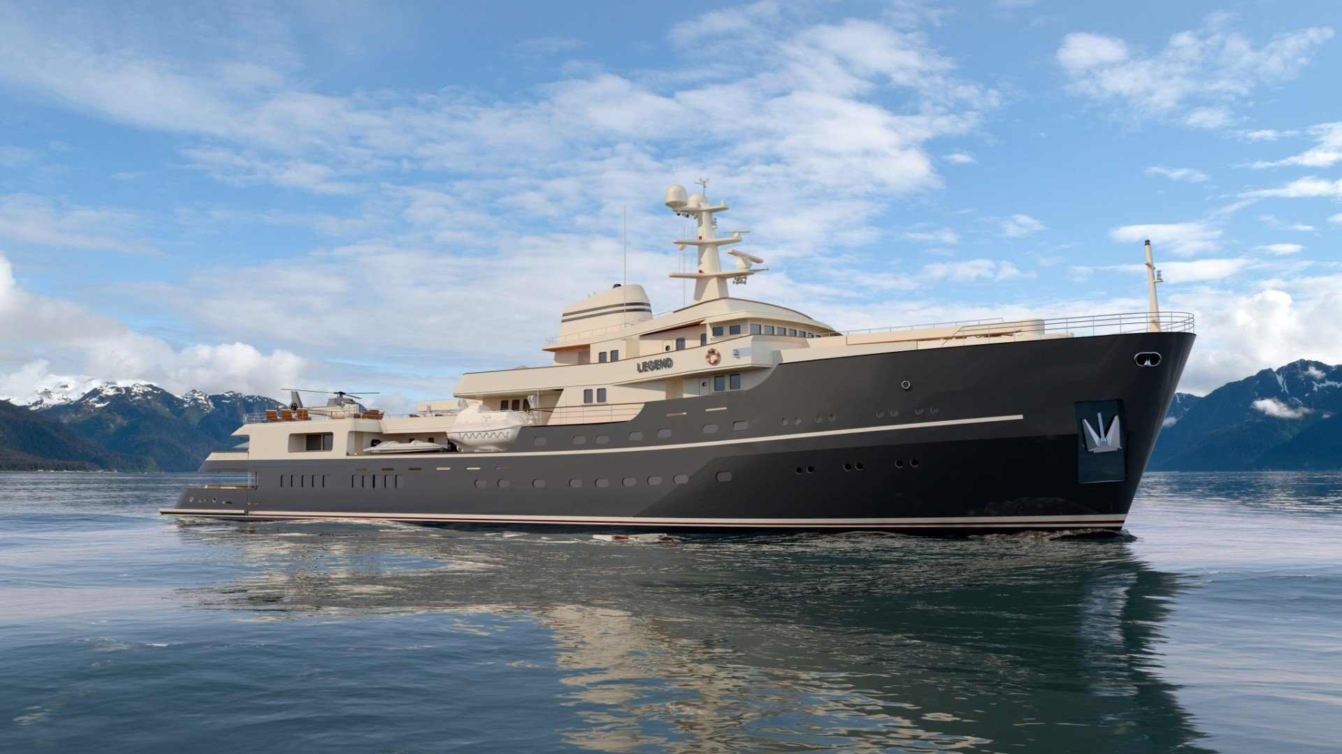 legend monaco yacht show