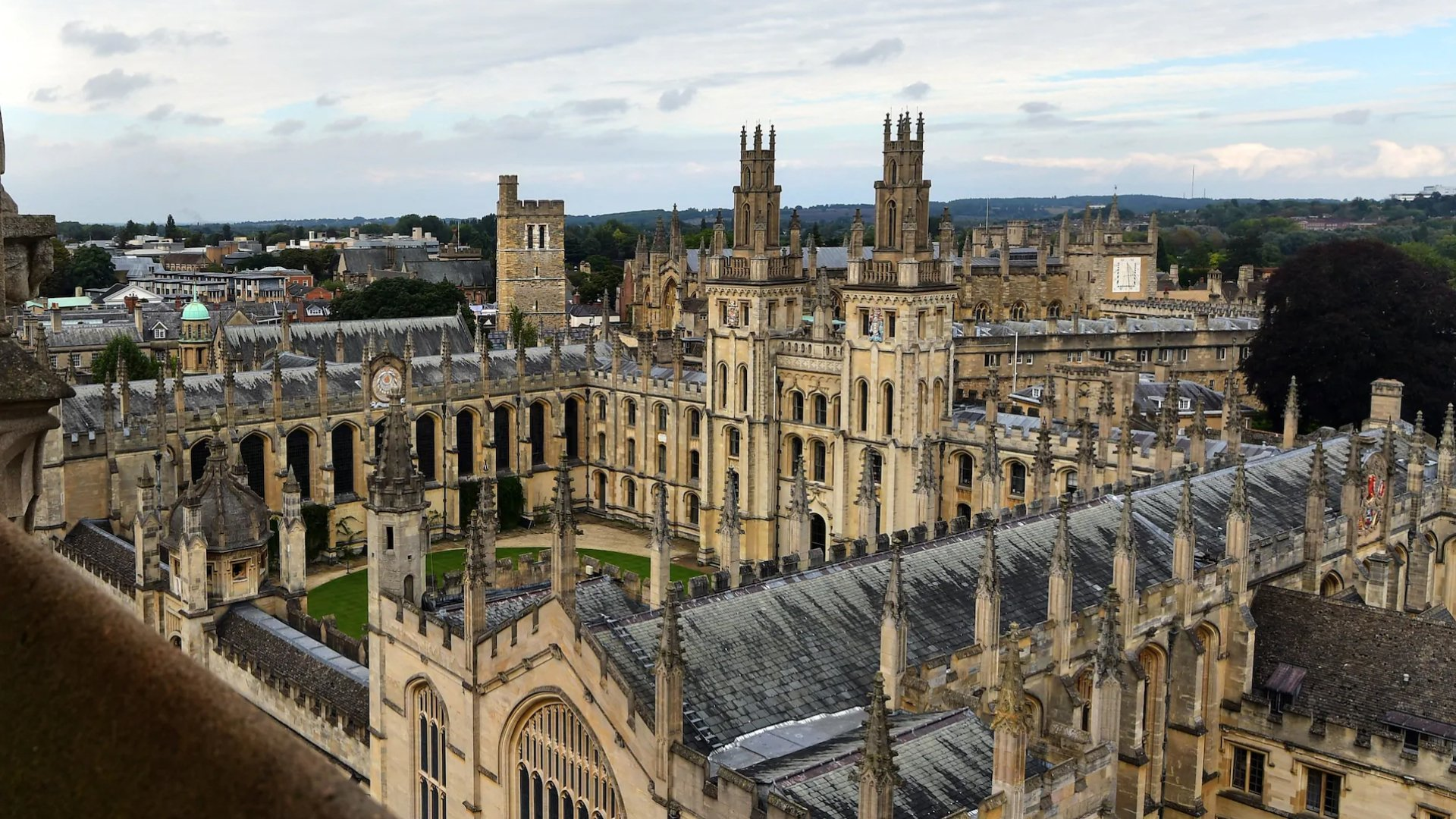 Oxford University sfeer