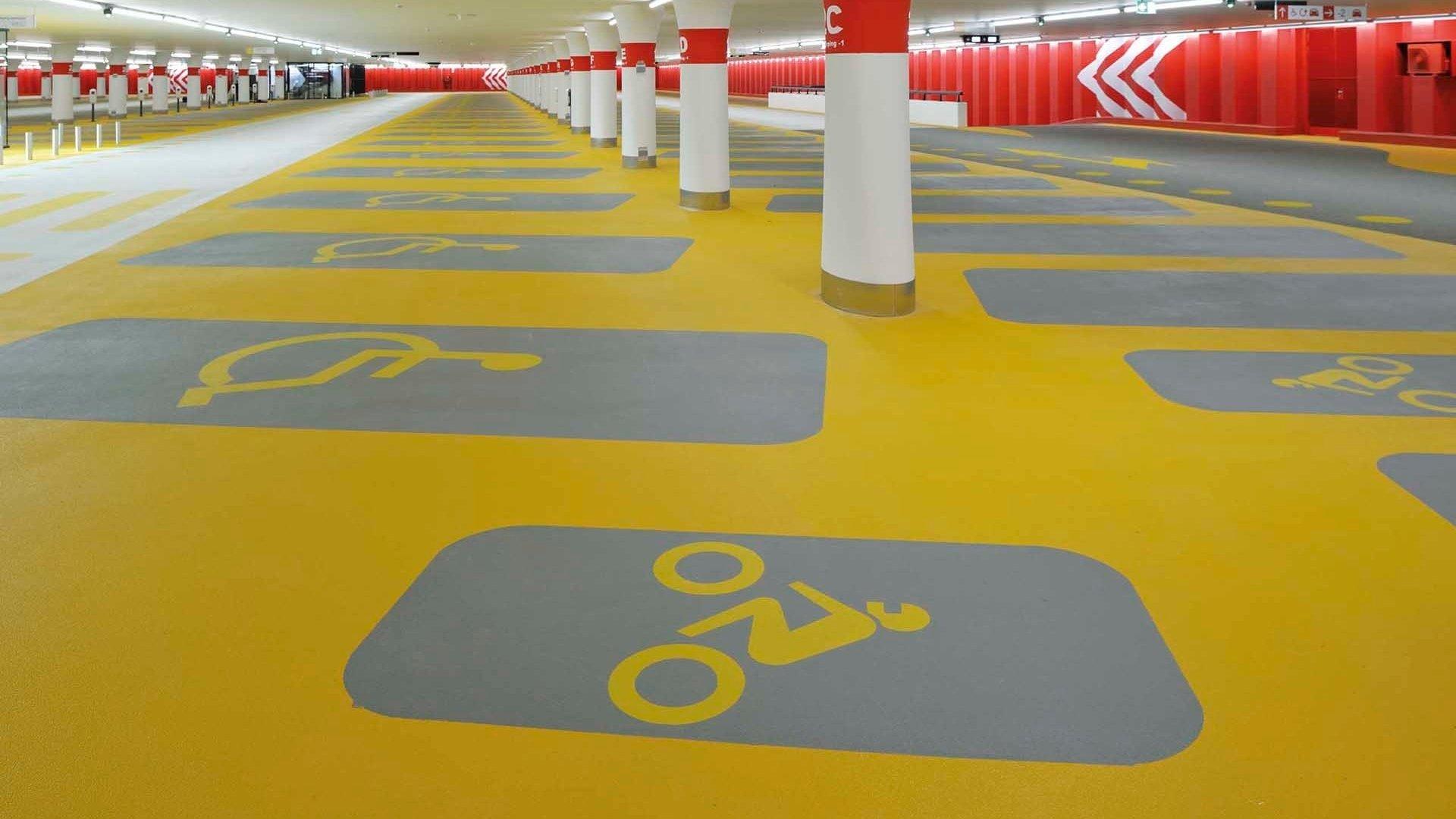 Parkeergarage Jaarbeursplein Utrecht Boligrip 200P