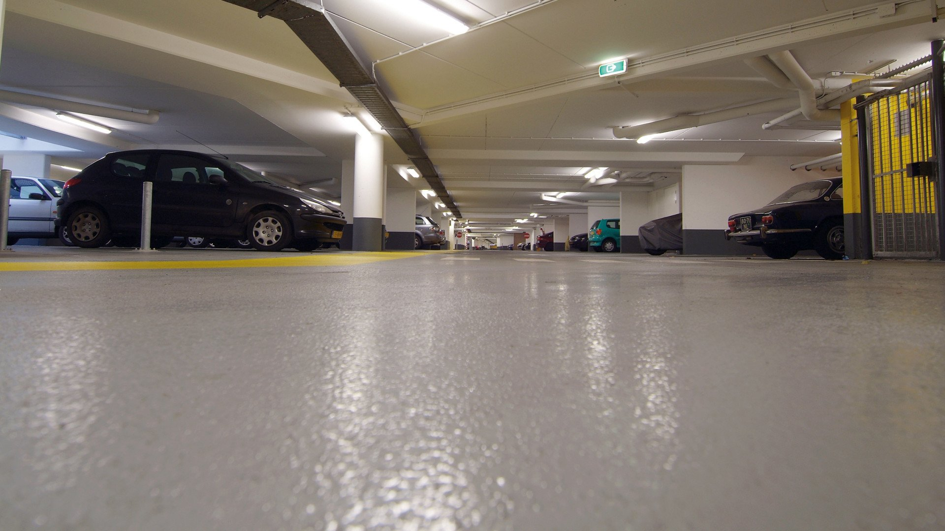 Parkeergarage Oude Haven Rotterdam Bolicoat 50 RF