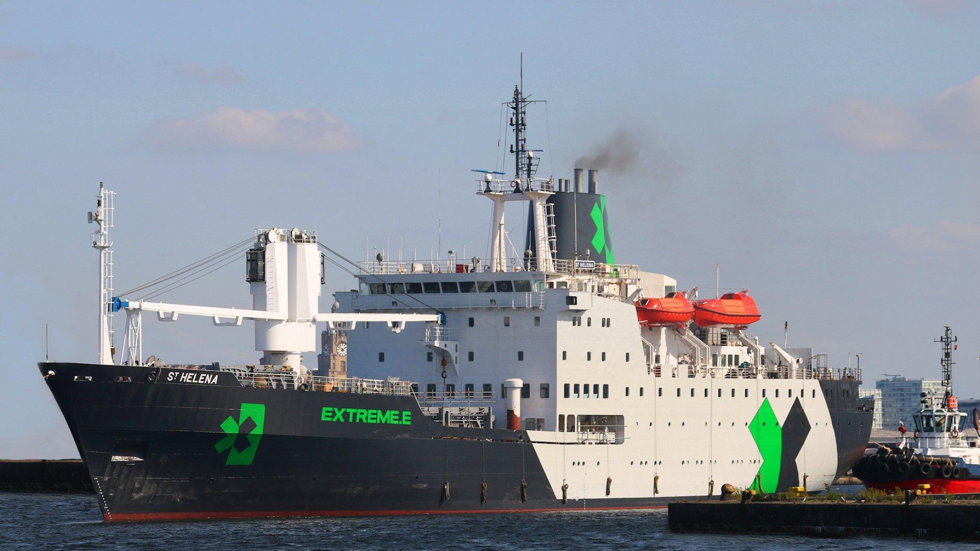 RMS St Helena - Extreme E