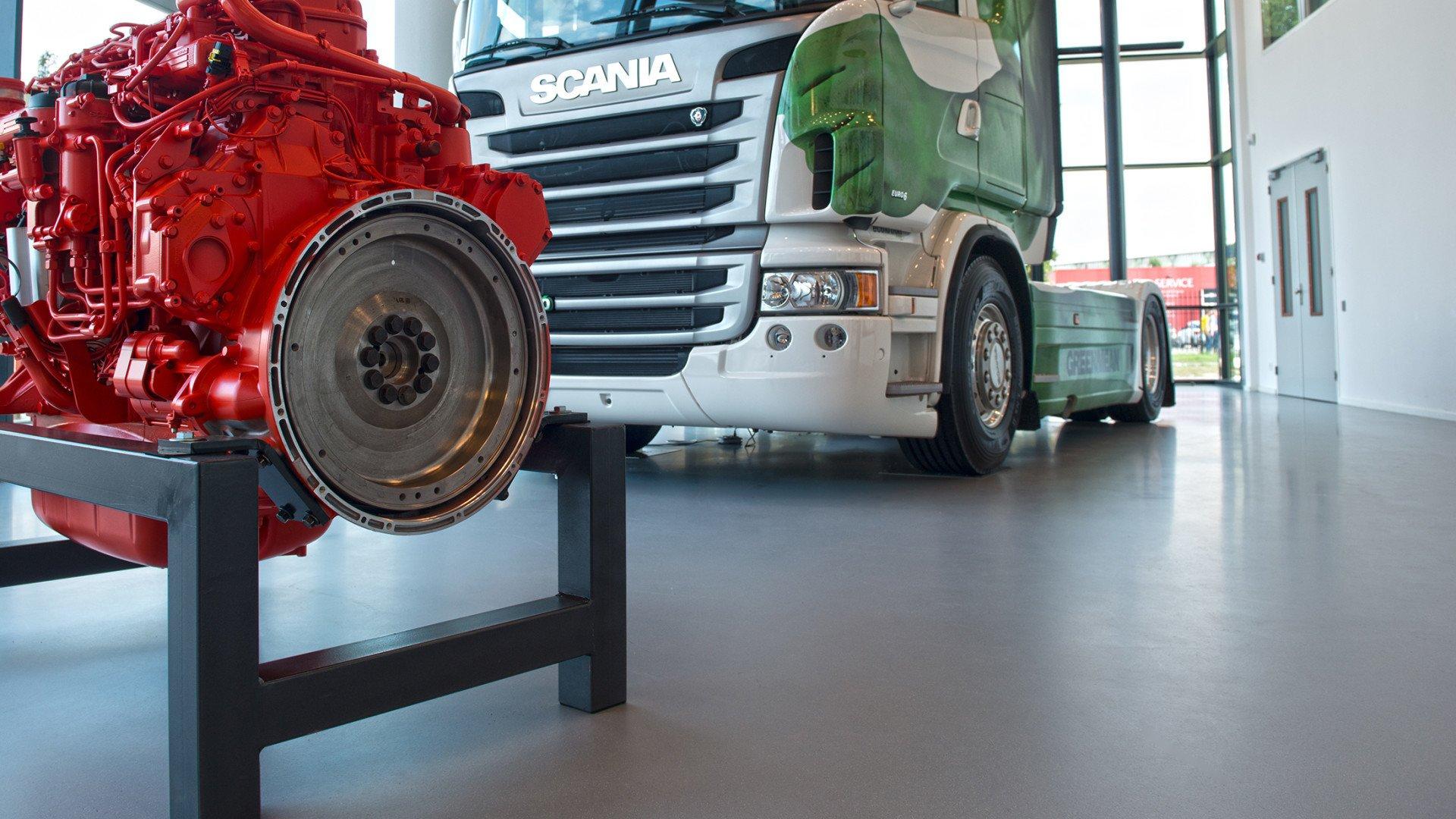 Scania Nederland Bolidtop 525