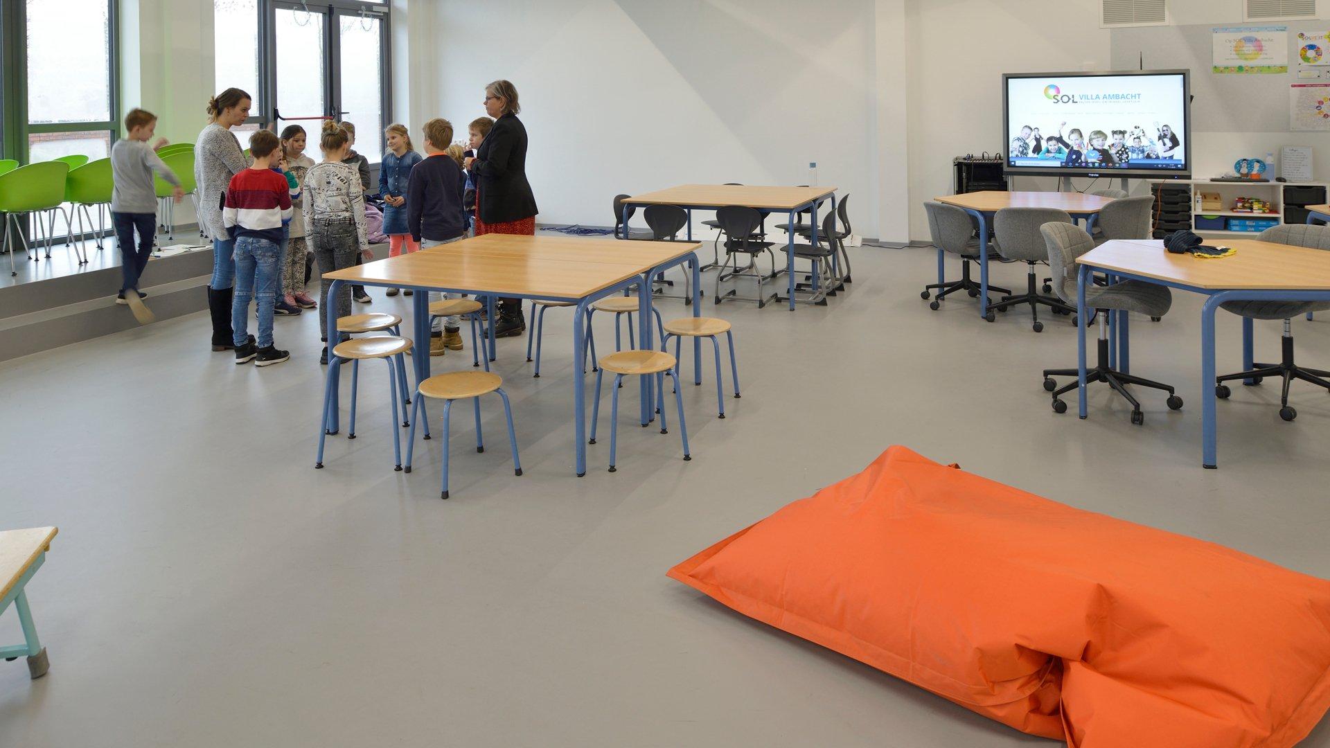 Sol Vila primary school Sport flooring