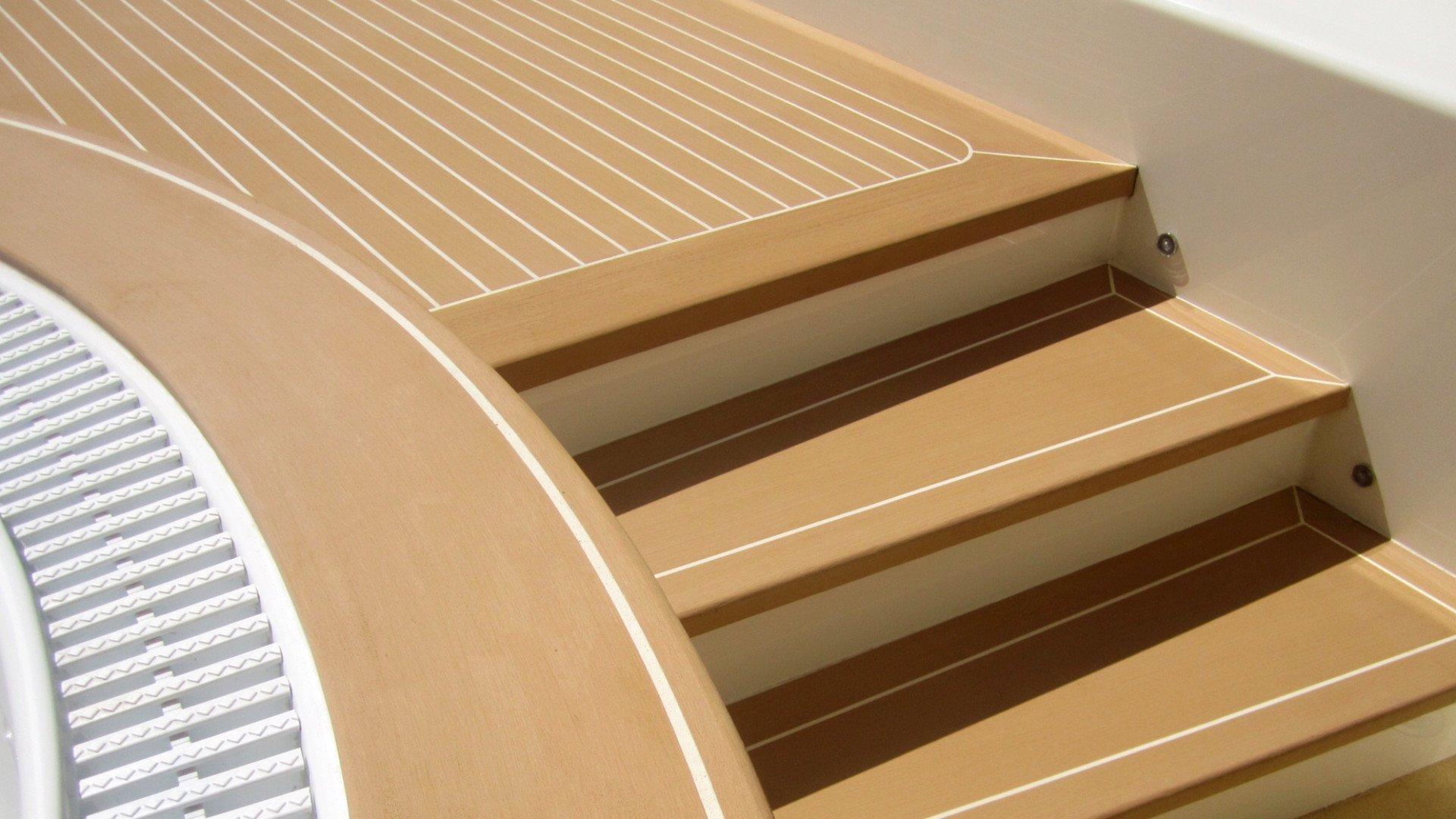 Stairs Prefab Bolideck Future Teak