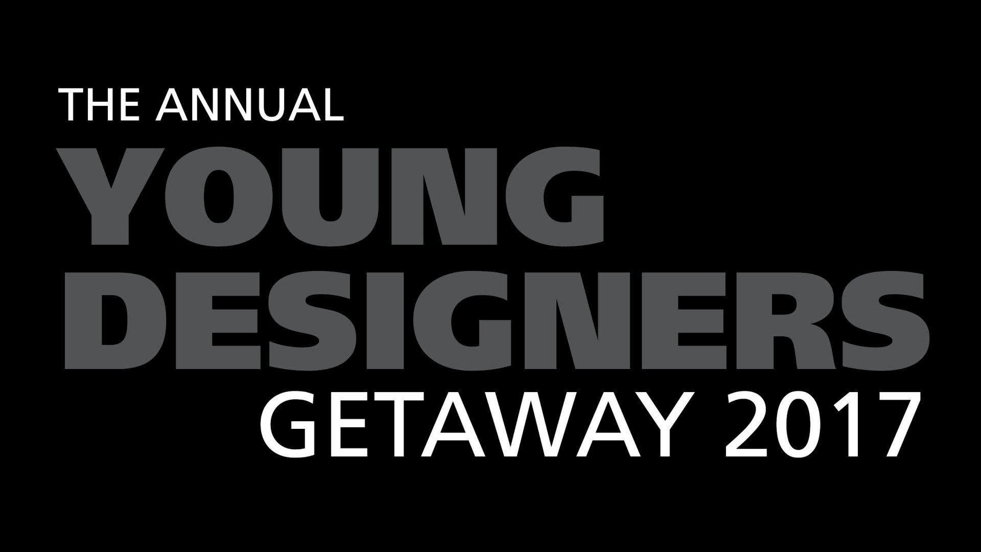 The Annual Young Designers Getaway event Bolidt Oceanco Esthec