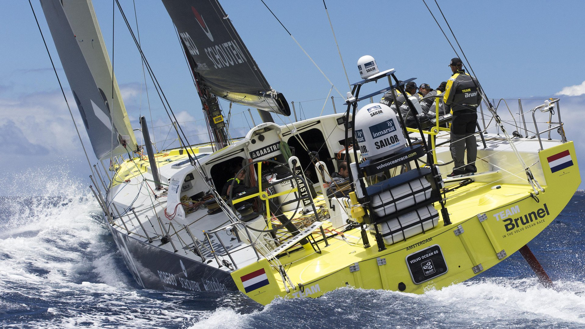 Volvo Ocean Race 2014-2015 Team Brunel Bolidt