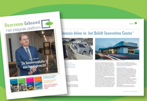 Bolidt Innovation Center Artikel in Duurzaam Gebouwd magazine