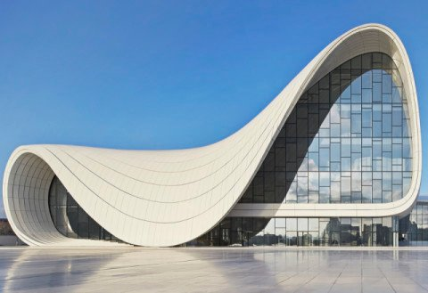Heydar Aliyev Center No Content