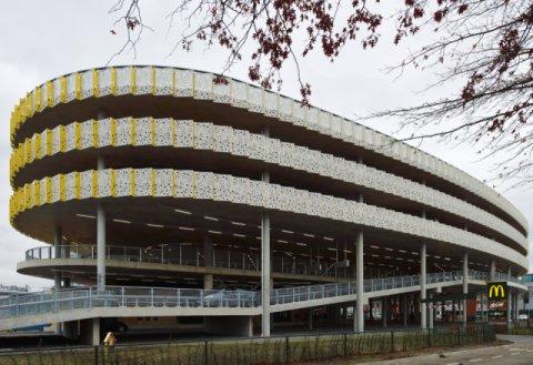 Parking Multi Purpose Building Eindhoven Airport Boligrip