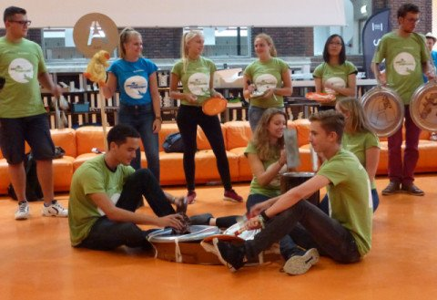 TUDelft Recycling Event