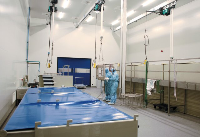 Cleanroom ATM Oirschot Bolidtop 700