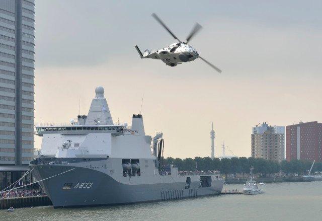 Damen Schelde Naval Shipbuilding Karel Doorman Bolideck B1