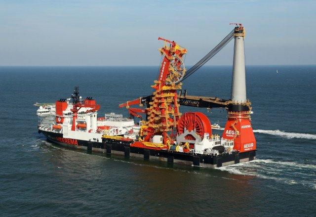 DCV Aegir Heerema Offshore Services Bolidtop 700