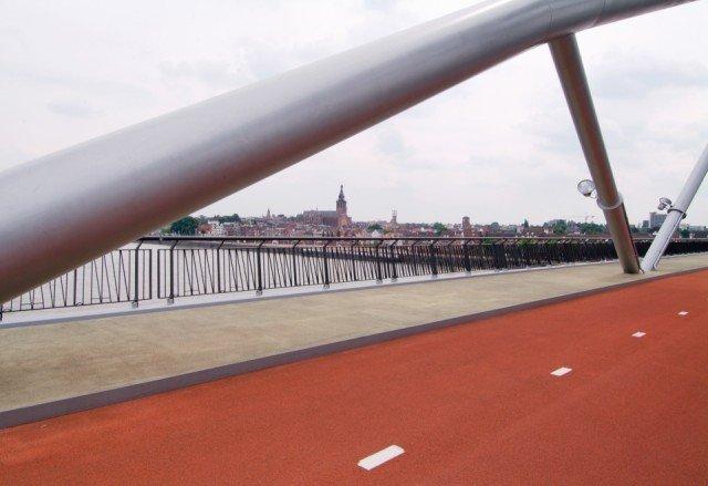 De Waalsprongbrug Nijmegen Bridgedeck UP
