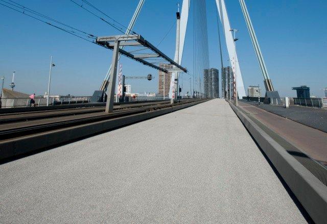 Erasmusbrug Rotterdam Bridgedeck UP