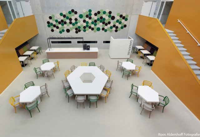 Hubertus & Berkhoff culinaire vakschool Amsterdam Bolidtop 700 College