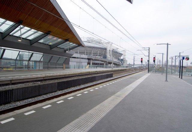Metroperrons Bijlmerstation Amsterdam Boligrip 1250