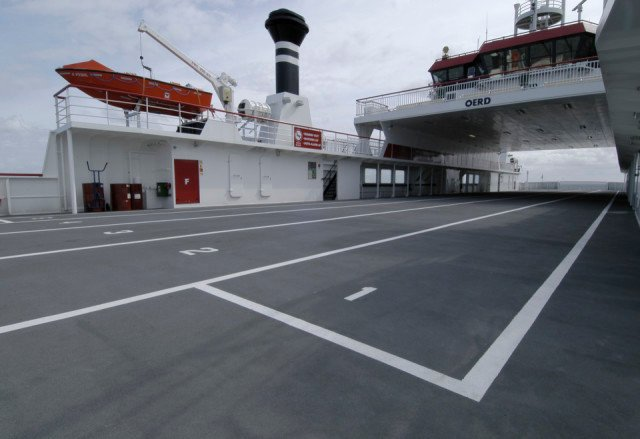 MV Oerd  Autoveerboot Ameland-Holwerd Bolideck 1250