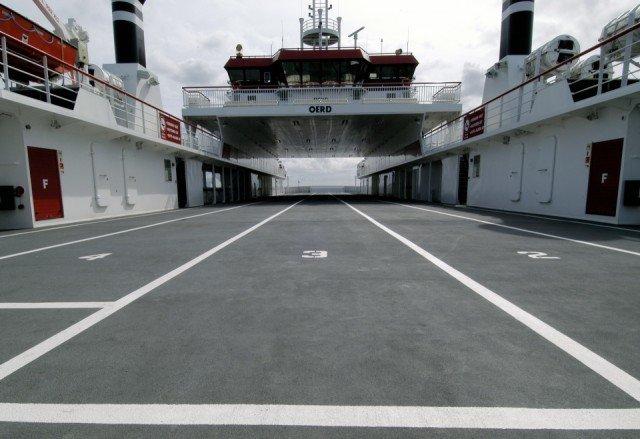 MV Oerd  Autoveerboot Ameland-Holwerd Boligrip 1250