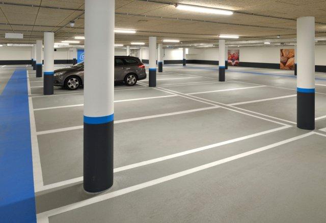 Parkeergarage Albert Heijn Almere Boligrip 50P