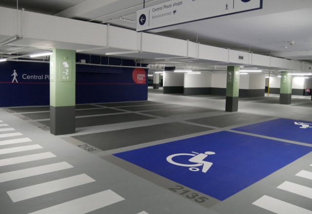 Parkeergarage Central Plaza Rotterdam Interparking Boligrip 50P