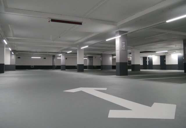 Parkeergarage Central Plaza Rotterdam Interparking Boligrip 50R