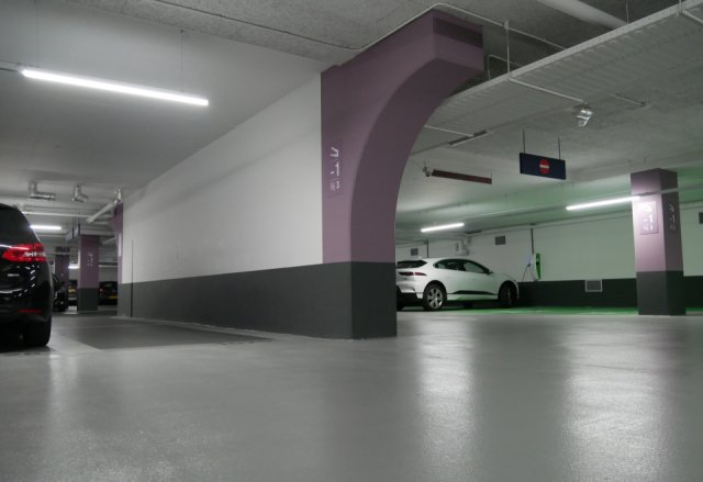 Parkeergarage Central Plaza Rotterdam Interparking Boligrip 50R