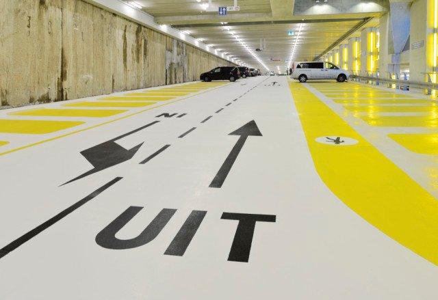 Parkeergarage Kruisplein Rotterdam Bolidtop 200 RF
