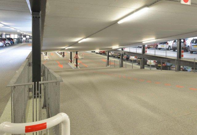 Parkeergarage Zilverpark Lelystad Boligrip WH