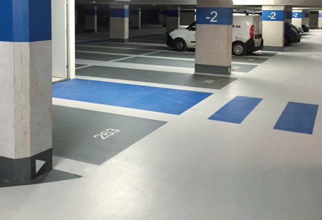 Parkeerkelder De Hallen Zuid-Kwintijn Amsterdam  Boligrip 50R
