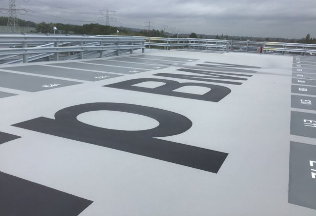 Parking deck BMW-Mini Oostzaan Boligrip