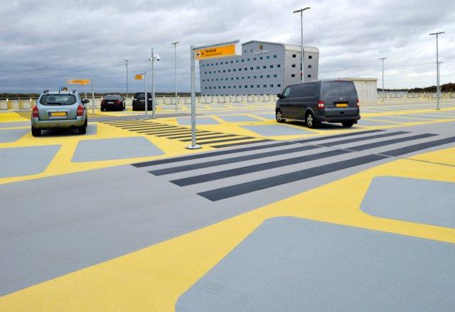 Parking Multi Purpose Building Eindhoven Airport Boligrip 2000
