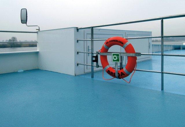 River Cruiser De Zonnebloem Bolideck 1500
