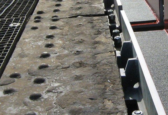 Spoorbrug Pisa RFI Italië Bolirail PU