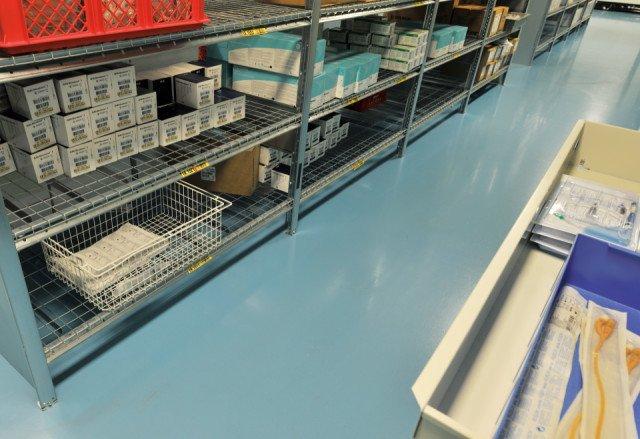 UMC Centraal magazijn Utrecht Bolidtop 200 Stato