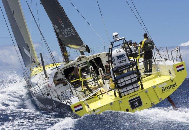 Volvo Ocean Race 2014-2015 Team Brunel Bolidt